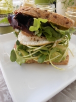Farmers Market Egg Sandwich - It's What's for Lunch